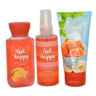 Trio Voyage GET HAPPY - WHITE PEACH SANGRIA Bath and Body Works