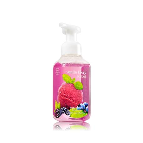 Savon mousse VANILLA BERRY SORBET Bath and Body Works Hand Soap