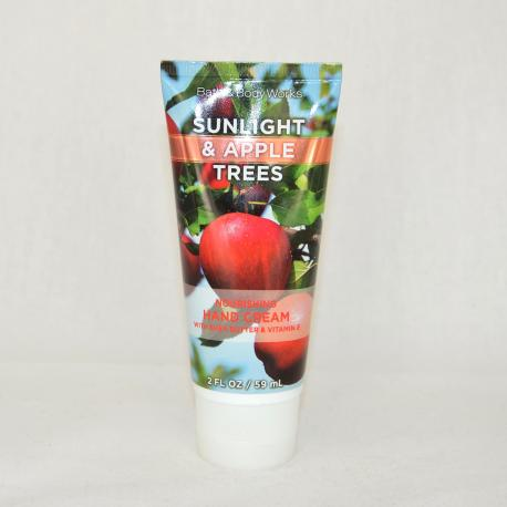 Crème pour les mains SUNLIGHT AND APPLE TREES Bath and Body Works US USA