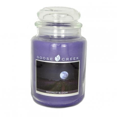 Bougie parfumée Grande Jarre 2 mèches MOONLIT BLOOM Goose Creek Candle USA