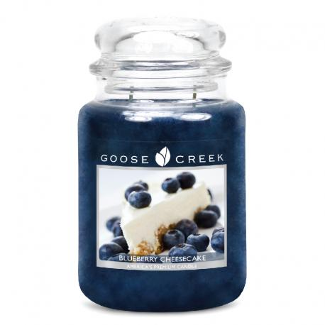 Bougie Grande Jarre 2 mèches BLUEBERRY CHEESECAKE Goose Creek Candle