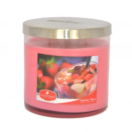 Bougie parfumée Odor Eliminator SUMMER SLICES Goose Creek Candle