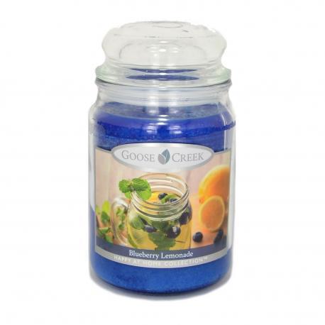 Bougie parfumée Grande Jarre 2 mèches BLUEBERRY LEMONADE Goose Creek Candle US