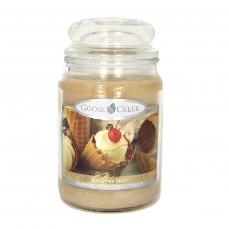 Bougie parfumée Grande Jarre 2 mèches ICE CREAM SHOP Goose Creek Candle US