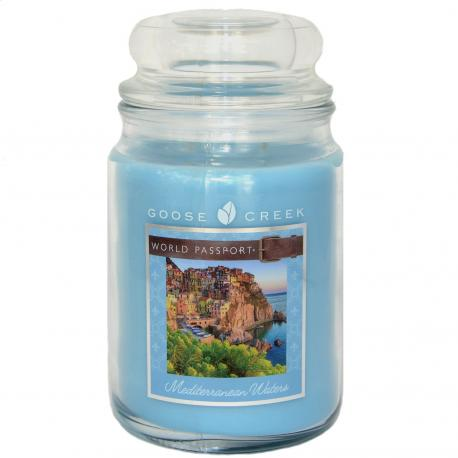 Grande Jarre 2 mèches MEDITERRANEAN WATERS Goose Creek Candle