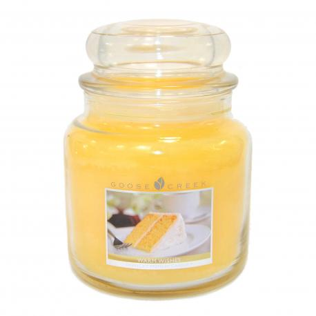 Bougie parfumée Moyenne Jarre 2 mèches WARM WISHES Goose Creek Candle US USA