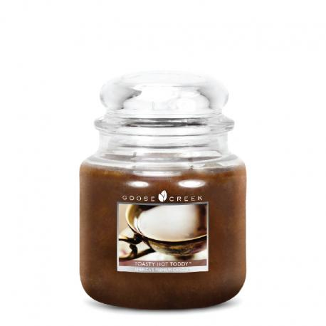 Bougie parfumée Moyenne Jarre 2 mèches TOASTY HOT TODDY Goose Creek Candle US USA