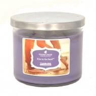Bougie Tumbler 3 mèches KISS IN THE SAND Goose Creek Candle