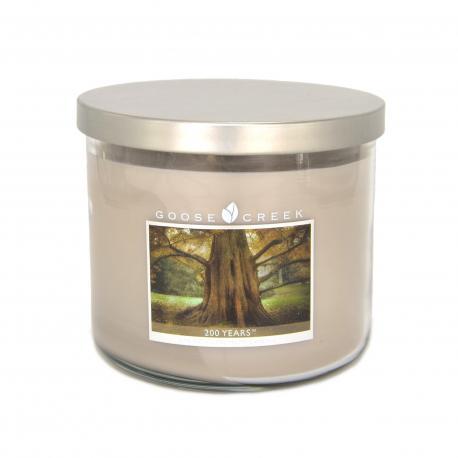 Bougie parfumée Tumbler 3 mèches 200 YEARS Goose Creek Candle US USA