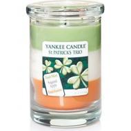 Bougie parfumée Layered Tumbler IRISH TRIO Yankee Candle Saint Patrick exclu US USA