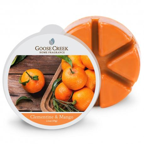 Cire parfumée CLEMENTINE & MANGO Goose Creek Candle