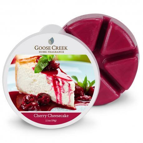 Cire parfumée CHERRY CHEESECAKE Goose Creek Candle