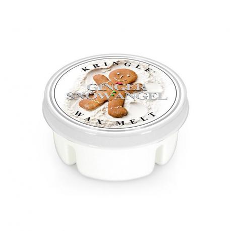 Cire parfumée GINGER SNOW ANGEL Kringle Candle tartelette