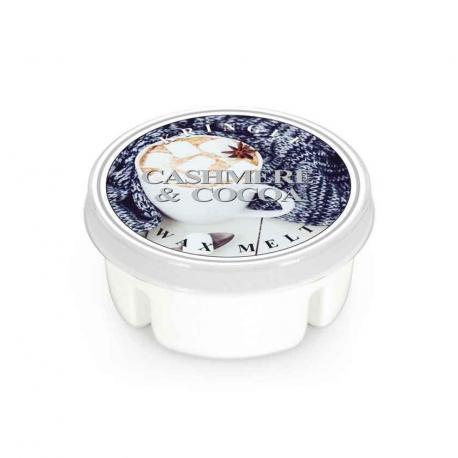 Cire parfumée CASHMERE AND COCOA Kringle Candle