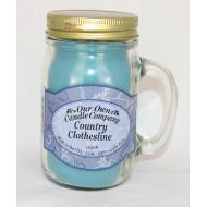 Bougie Mason Jar COUNTRY CLOTHESLINE Our Own Candle Company