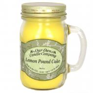 Bougie parfumée Mason Jar LEMON POUNDCAKE Our Own Candle Company US USA