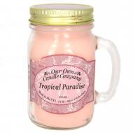 Bougie parfumée Mason Jar TROPICAL PARADISE Our Own Candle Company US USA