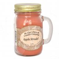 Mason Jar APPLE STRUDEL Our Own Candle Company