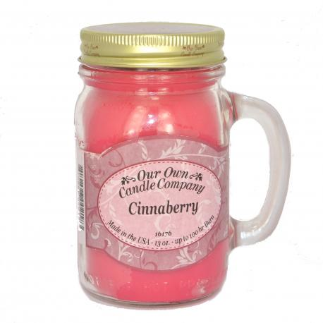 Mason Jar CINNABERRY Our Own Candle Company