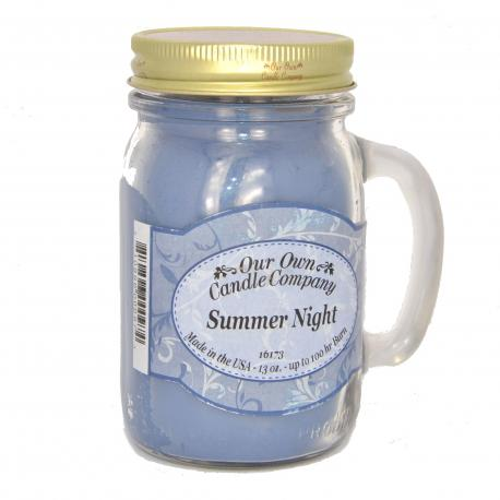 Mason Jar SUMMER NIGHT Our Own Candle Company