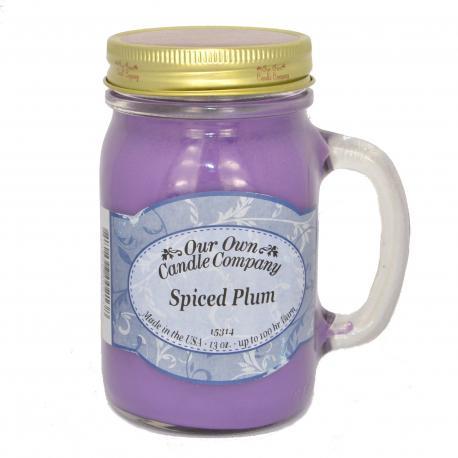 Mason Jar SPICED PLUM Our Own Candle Company