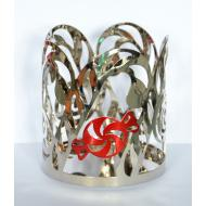 Jar Holder CANDY CANE Yankee Candle
