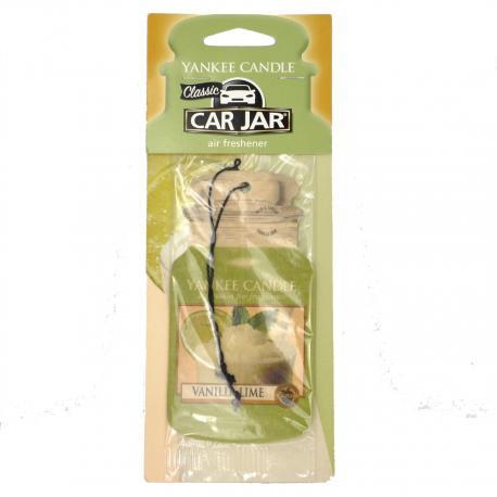 Car Jar VANILLA LIME Yankee Candle