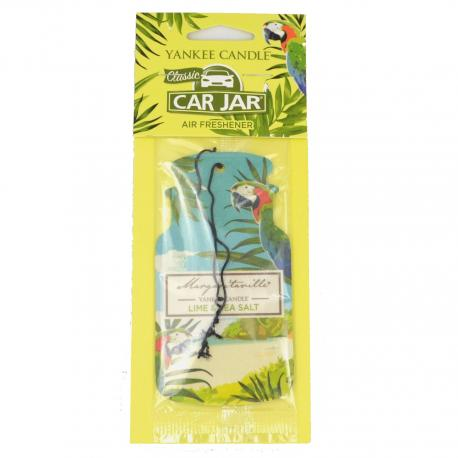 Car Jar MARGARITAVILLE LIME & SEA SALT Yankee Candle