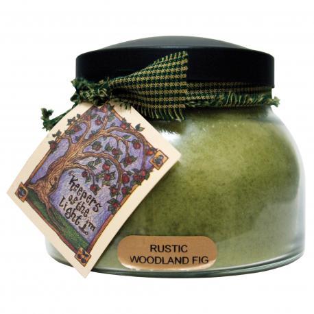 Bougie parfumée Mama Jar RUSTIC WOODLAND FIG A Cheerful Giver candle US USA