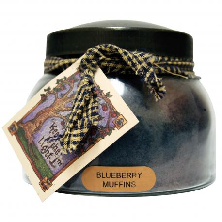 Bougie parfumée Mama Jar BLUEBERRY MUFFINS A Cheerful Giver candle US USA