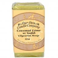 Savon parfumé COCONUT LIME Our Own Candle Company Soap US USA