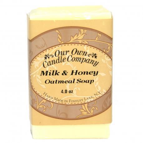 Savon parfumé MILK & HONEY Our Own Candle Company soap US USA