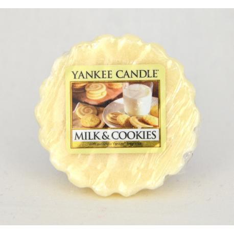 Tartelette de cire parfumée MILK & COOKIES Yankee Candle wax tart US USA