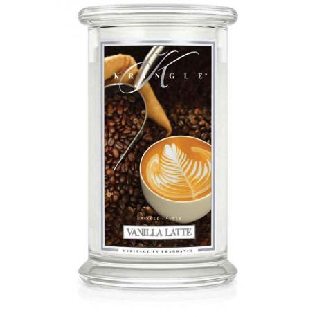 Grande Jarre 2 mèches VANILLA LATTE Kringle Candle