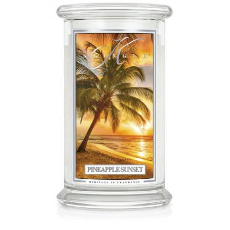 Grande Jarre 2 mèches PINEAPPLE SUNSET Kringle Candle