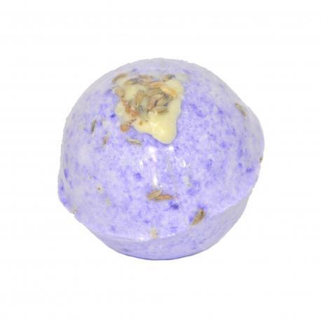 Boule de bain parfumée LUXURY LAVENDER Posh Brats fizzy bath bomb