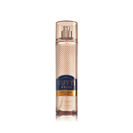 Brume parfumée GOLDEN HONEY PRALINE Bath and Body Works fragrance body mist Tutti Dolci US USA