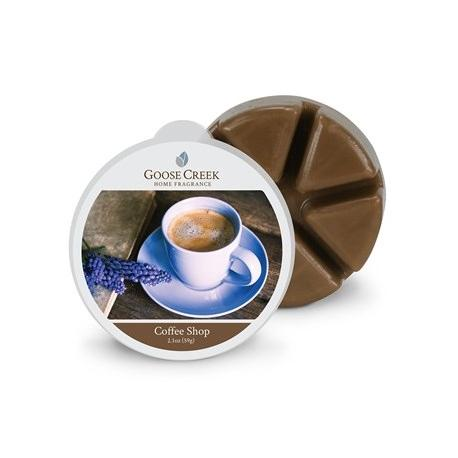 Cire parfumée COFFEE SHOP Goose Creek Candle