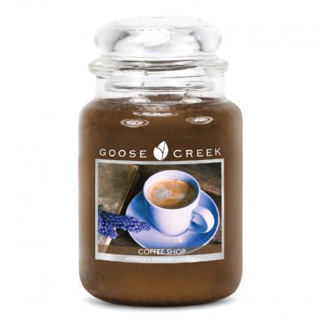 Grande Jarre 2 mèches COFFEE SHOP Goose Creek Candle