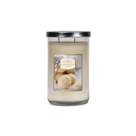Tumbler 2 mèches WARM PUDDING COOKIES Goose Creek Candle