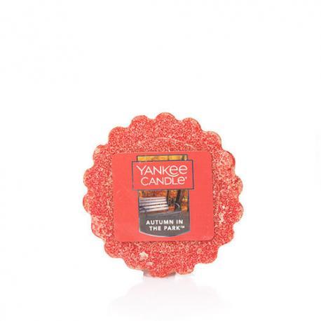 Tartelette de cire parfumée AUTUMN IN THE PARK Yankee Candle wax tart US USA