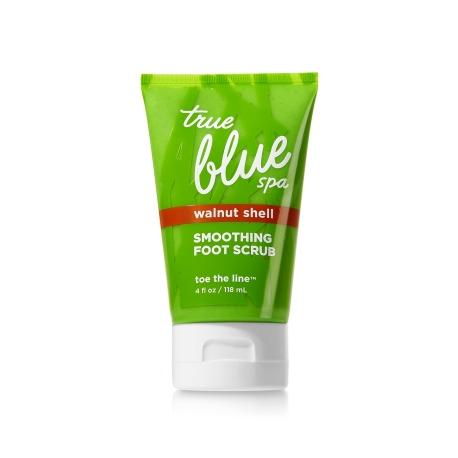 Gommage pour les pieds TOE THE LINE Bath and Body Works True Blue Spa foot scrub US USA