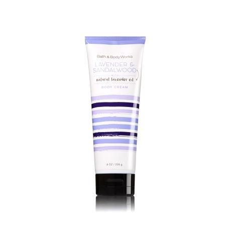 Crème pour le corps LAVENDER & SANDALWOOD Bath and Body Works body cream US USA