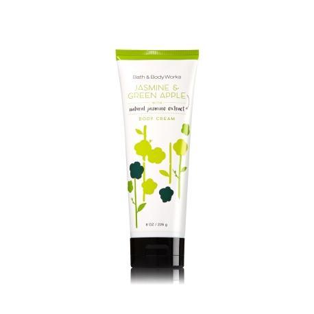 Crème pour le corps JASMIN & GREEN APPLE Bath and Body Works body cream US USA