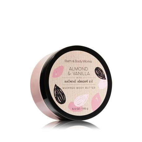 Beurre corporel ALMOND & VANILLA Bath and Body Works whipped body butter