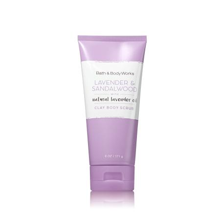 Gommage pour le corps LAVENDER & SANDALWOOD Bath and Body Works body scrub US USA