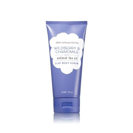 Gommage pour le corps WILDBERRY & CHAMOMILE Bath and Body Works body scrub US USA