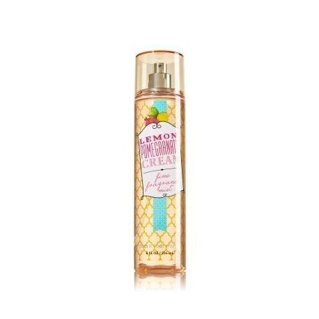 Brume parfumée LEMON POMEGRANATE CREAM Bath and Body Works fragrance body mist US USA