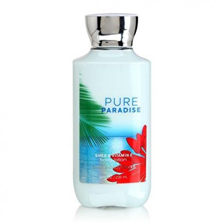 Lait pour le corps PURE PARADISE Bath and Body Works body lotion US USA