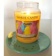 Assiette EASTER CHICKS Poussin Yankee Candle Plateau candle tray Pâques Easter